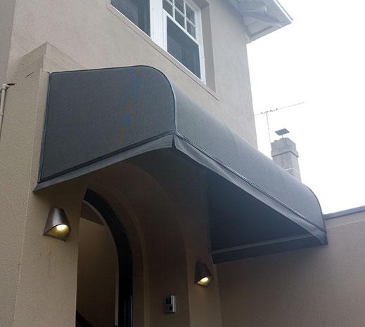 Bullnose / Convex Canopy