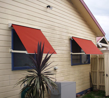 Automatic Awnings Melbourne Drop Arm Awnings Coolabah