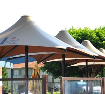 Static Commercial Umbrellas